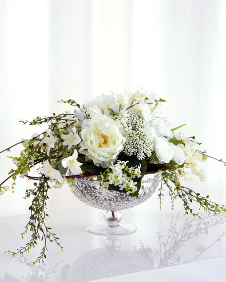 John-Richard Collection Cascading Bouquet Faux-Floral Arrangement