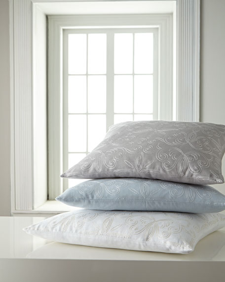 "SFERRA Landers Pillow, 20""Sq."