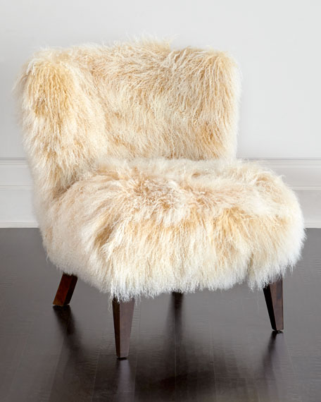 Lanza Sheepskin Chair