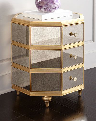 Bewitch Mirrored Side Table