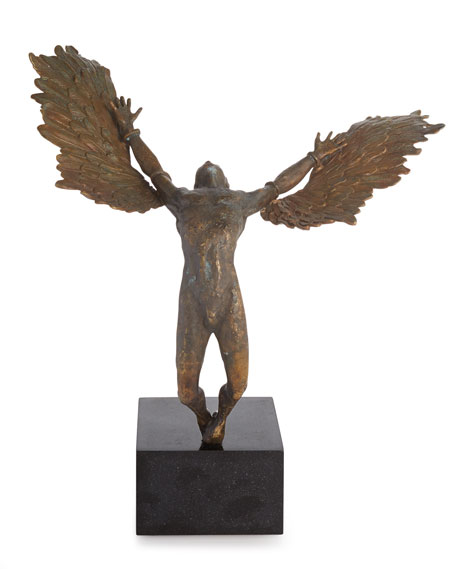 Image 1 of 2: Icarus Sculpture