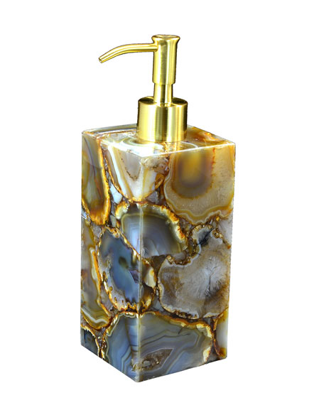 Taj Agate Pump Dispenser