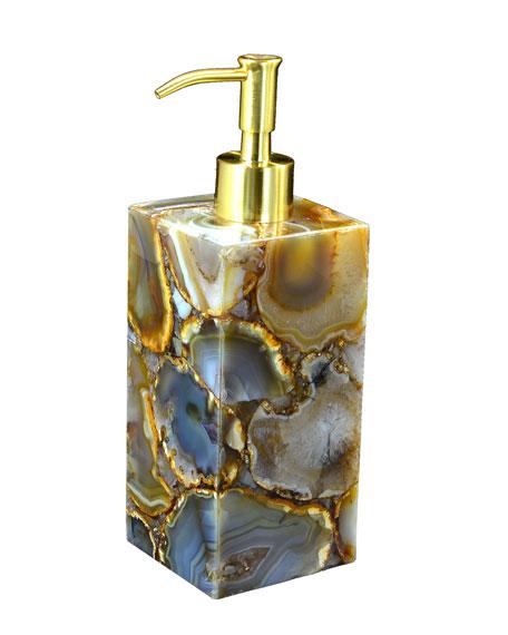 Taj Agate Pump Dispenser