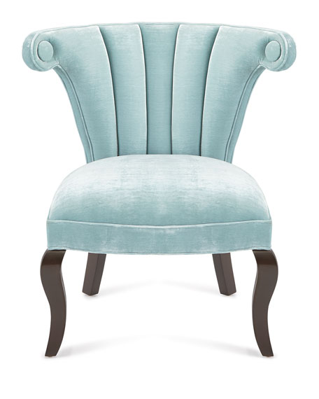 Kylie Channel-Tufted Chair