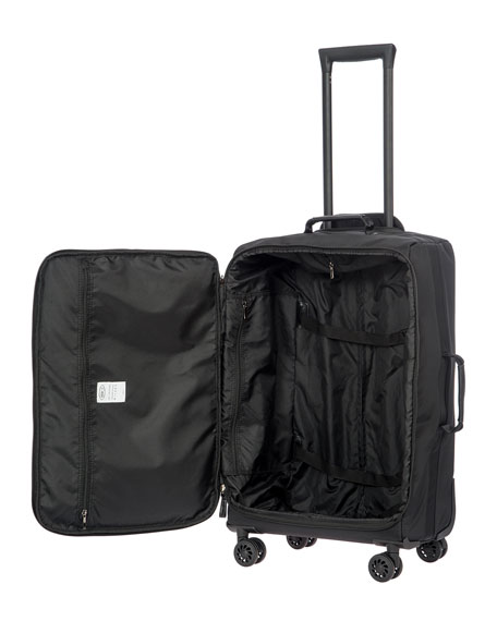 "Image 2 of 3: Bric's Black X-Bag 25"" Spinner Luggage"