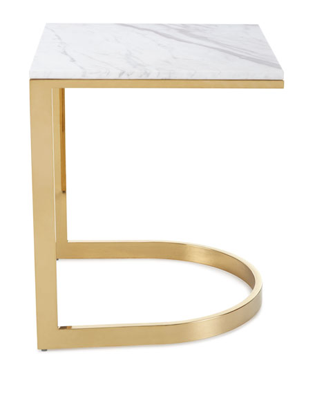 Bernhardt Marquis Marble End Table