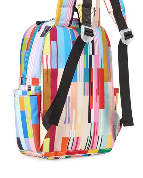 Kane Custom Stripe Mini Backpack