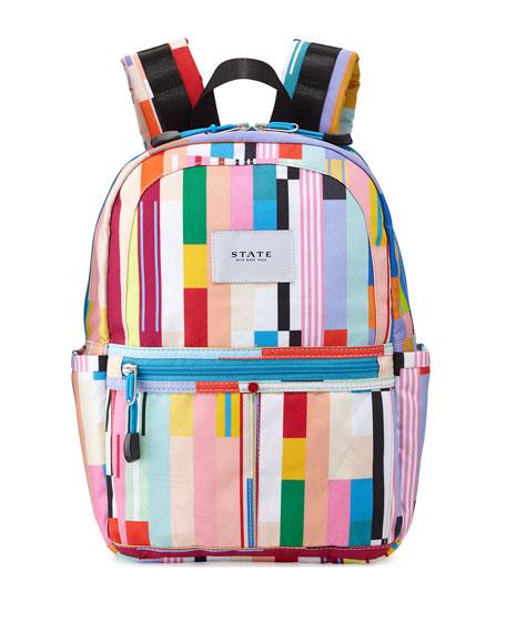State Bags Kane Custom Stripe Mini Backpack