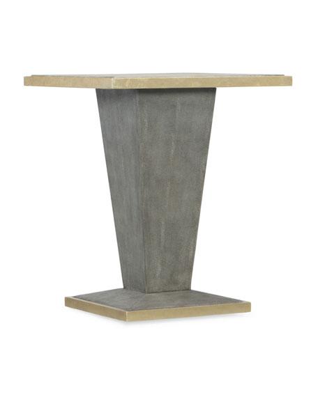 Sassy Shagreen End Table