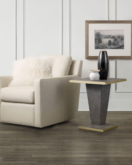 Sassy Shagreen End Table