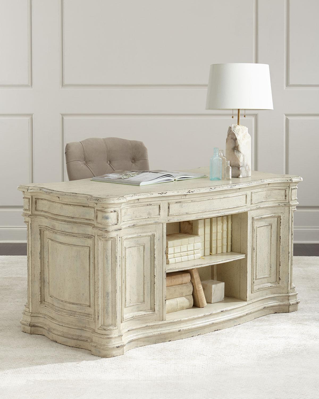 Ancient Kneehole Desk