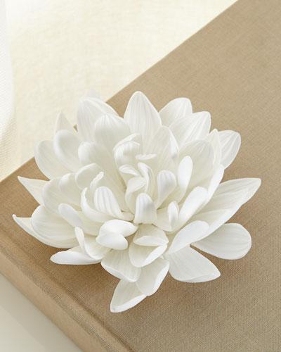 Dahlia Porcelain Flower