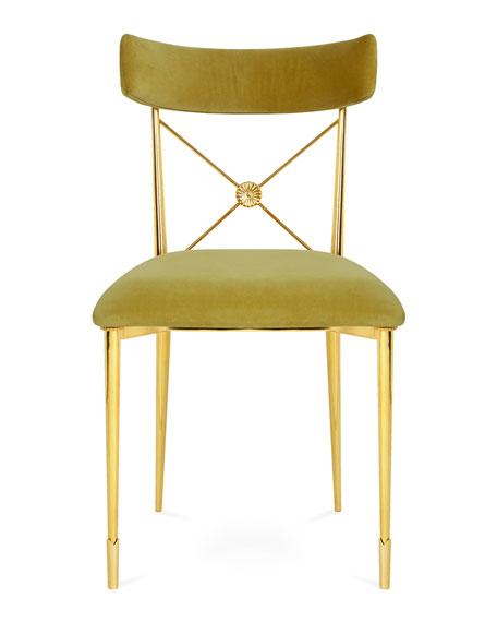 Jonathan Adler Golden Rider Dining Chair