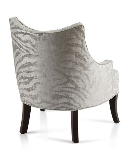 Haute House Lilia Animal Print Chair