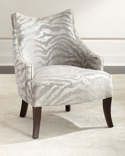 Lilia Animal Print Chair