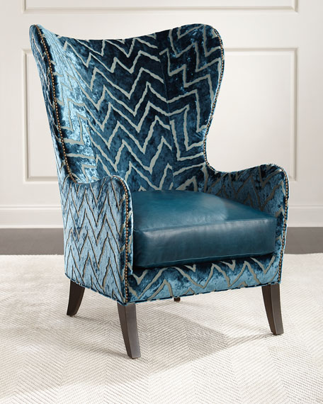 Massoud Viviette Wing Chair