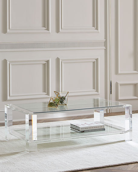 Quick Look. Interlude Home · Landis Acrylic Coffee Table