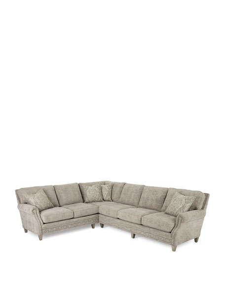 Image 2 of 3: Massoud Molly Right-Side Sectional Sofa