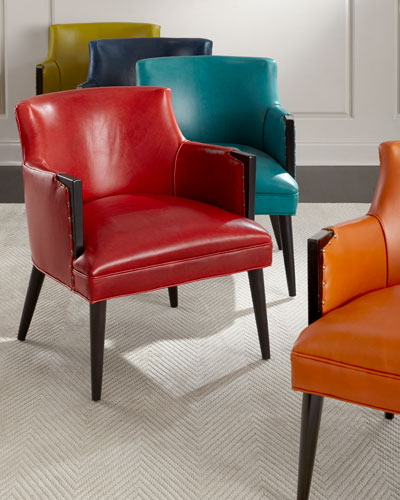 Alicia Leather Chair