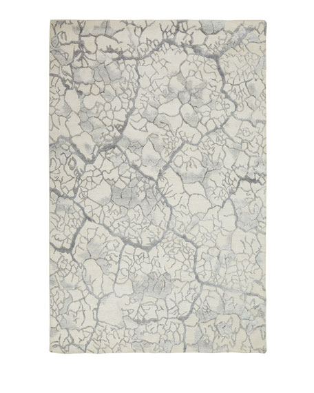 "Geneva Crackle Rug, 5'6"" x 7'5"""