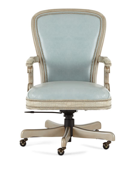 Lilly Leather Office Chair
