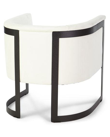 Bernhardt Zalina Leather Accent Chair