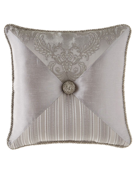 "Austin Horn Collection Prestige Pieced Pillow, 20""Sq."