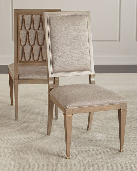 Image 2 of 5: Pair of Sparrow Dining Side Chairs