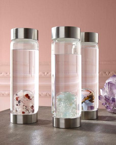 Gem Water by VitaJuwel Love Glass Bottle