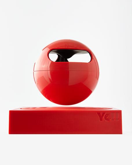 Floating Bluetooth Speaker, Red