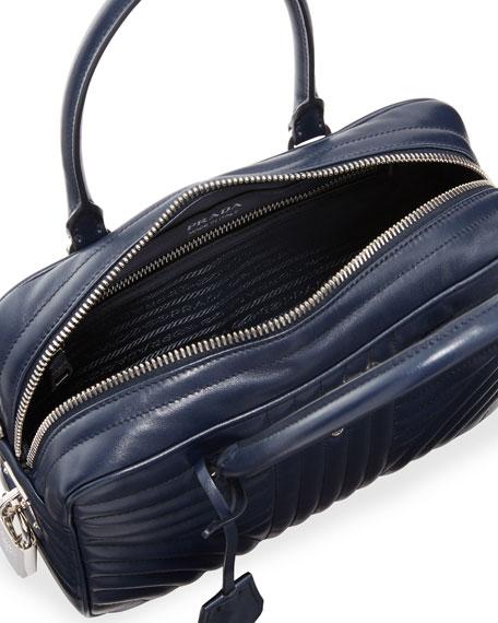 Impunture Quilted Zip Top Duffle Bag