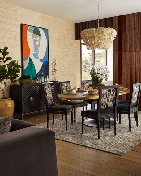 Rachel Oval Dining Table