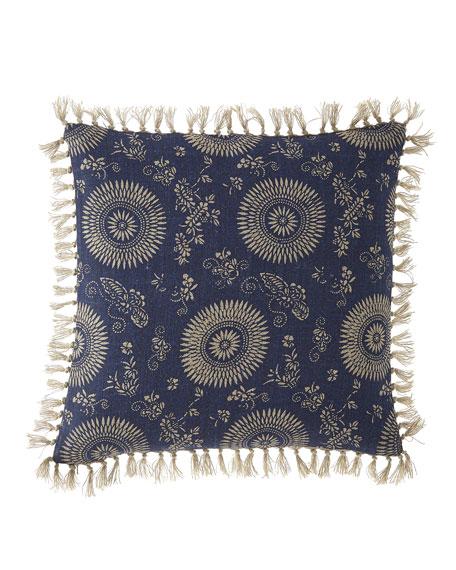 "Pine Cone Hill Marianna Linen Decorative Pillow, 20""Sq."