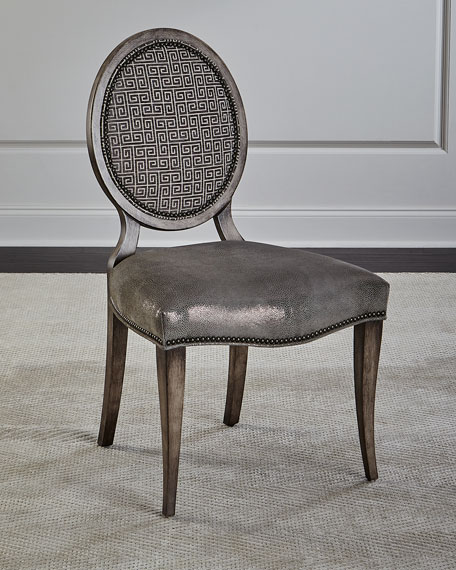 Massoud Fiorella Leather Dining Chair