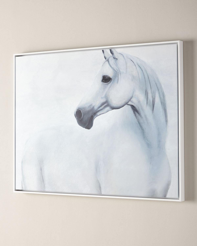 Calm Gaze Horse Giclee | Neiman Marcus