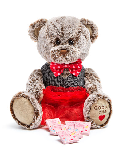 2018 Limited Edition Valentine's Day Plush Bear