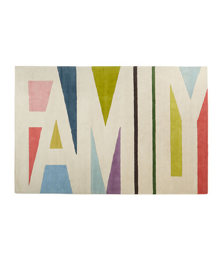 Family Expressions Hand-Tufted Rug, 5' x 8'