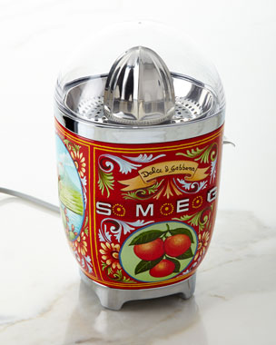 Smeg Dolce Gabbana x SMEG Sicily Is My Love Juicer