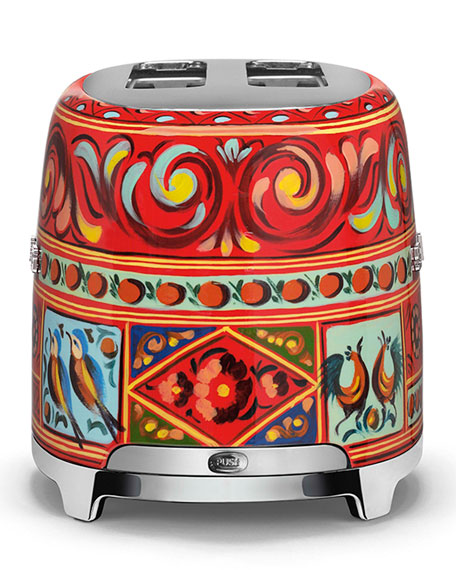 Dolce Gabbana x SMEG Sicily Is My Love Toaster