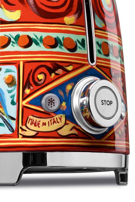 Dolce Gabbana x SMEG Sicily Is My Love Toaster