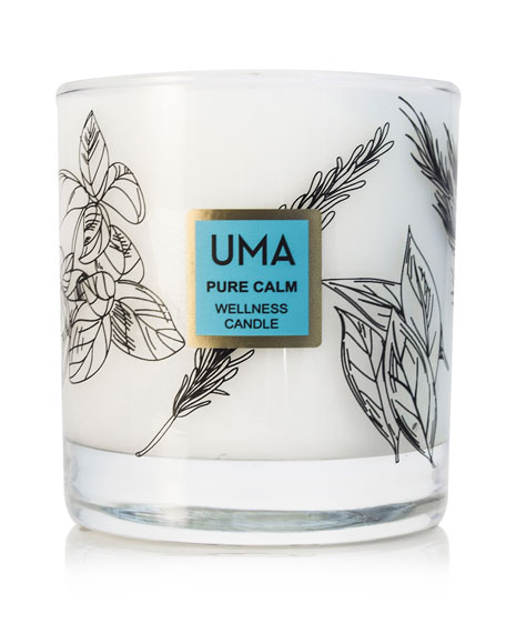 Image 1 of 2: UMA Oils Pure Calm Wellness Scented Candle