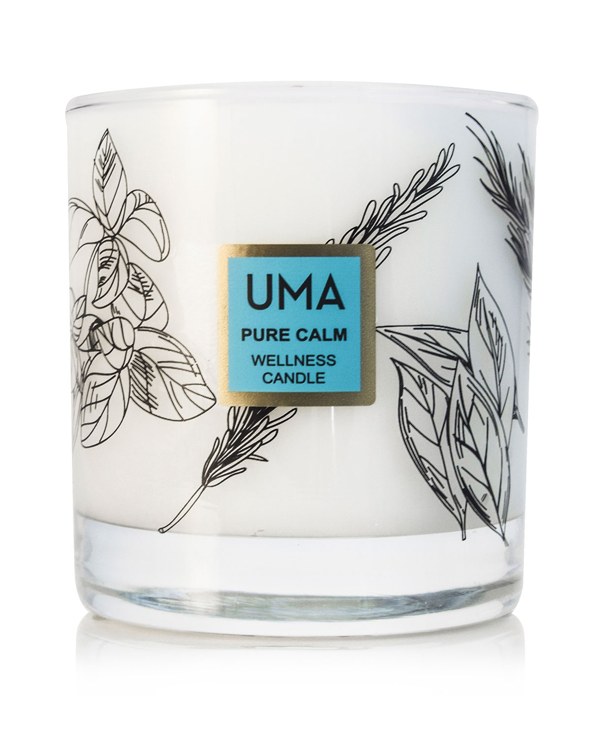 UMA Oils Pure Calm Wellness Scented Candle