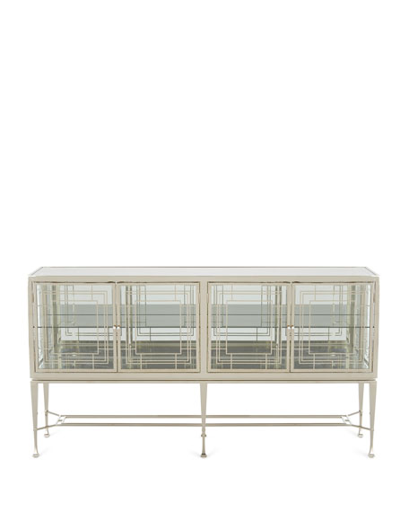 caracole Worth Its Weight In Gold Sideboard