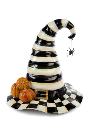 MacKenzie-Childs Courtly Stripe Witch's Hat