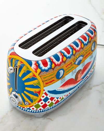 Dolce Gabbana x SMEG Sicily Is My Love 4-Slice Toaster