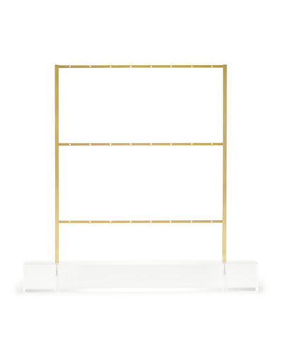 Antiqued Brass Earring Ladder