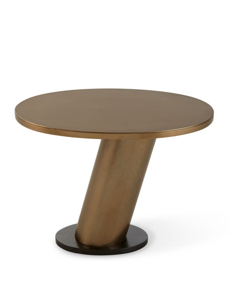 Image 4 of 5: Arteriors Brandt Leaning Side Table
