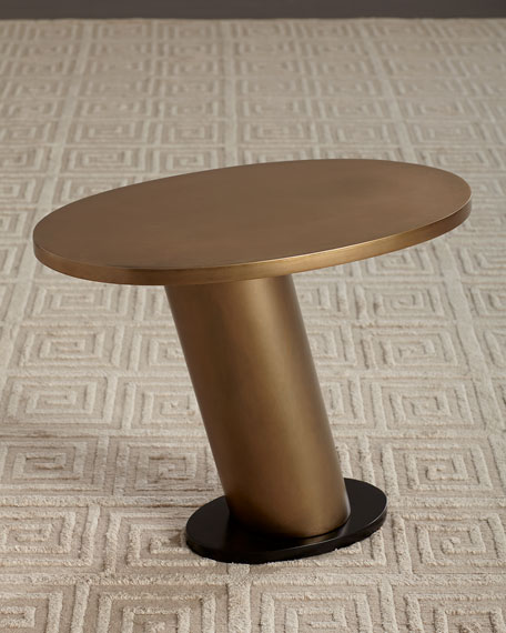 Image 1 of 5: Arteriors Brandt Leaning Side Table