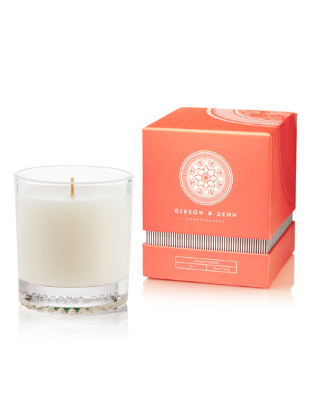 Gibson & Dehn Rhubarb & Quince  Scented Candle, 8 oz.