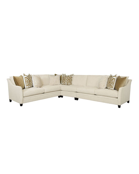 Bernhardt Sorenson 4-Piece Sectional Sofa